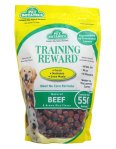 Pet Botanics Training Rewards are the perfect size for training and dogs LOVE the flavors!