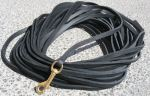 leather long leash